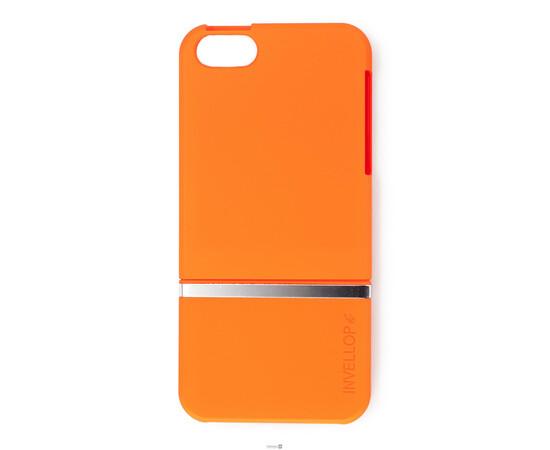 Чехол для iPhone 5/5S/SE Invellop slider Case Hard Cover Bumper (Orange), фото