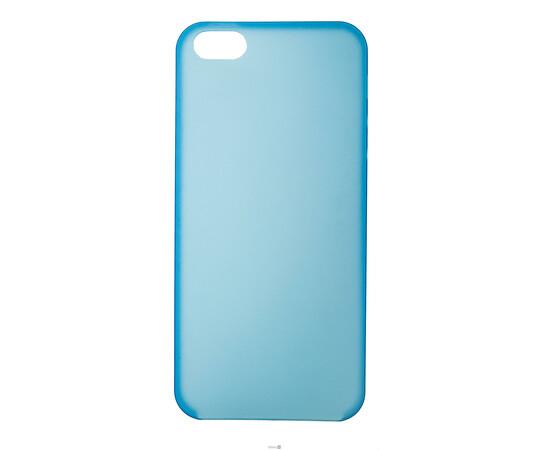 Чехол для iPhone 5/5S/SE Colorful Slim Series 0.3 mm (Blue), фото