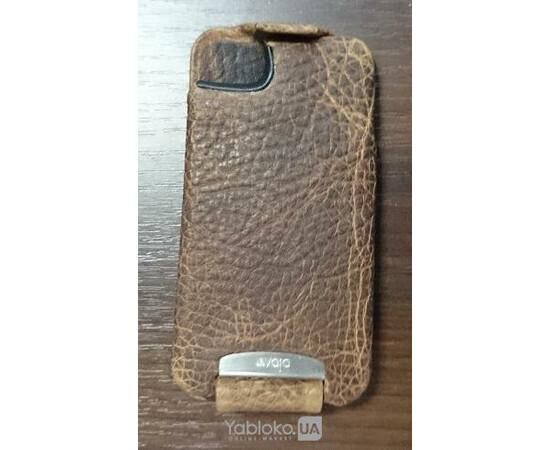 Чехол Vaja Limited Edition Mamut Suela Leather Case для iPhone 4\4S, фото