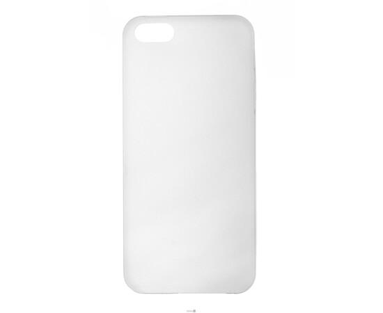 Чехол для iPhone 5/5S/SE Colorful Slim Series 0.3 mm (White), фото