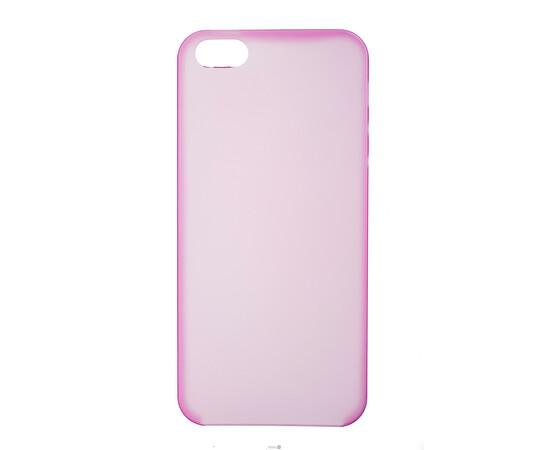 Чехол для iPhone 5/5S/SE Colorful Slim Series 0.3 mm (Pink), фото