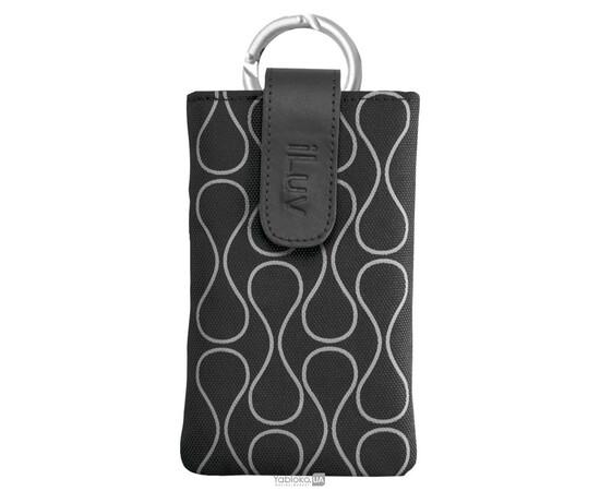 Чехол для iPhone 5/5S  iLuv Parasol Smart Cover Up (Black), фото