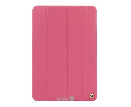 Чехол для iPad Mini/Retina ZENUS Synthetic Leather Smart Folio Cover (Pink), фото