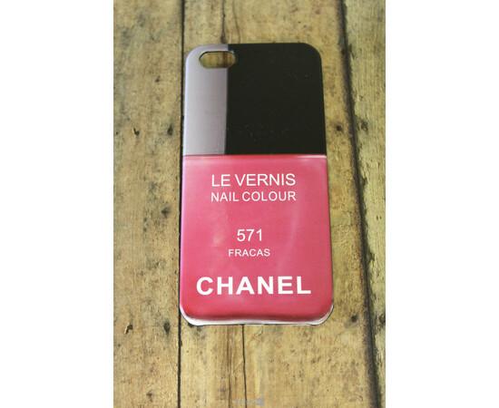 Чехол для iPhone 5/5S/SE Chanel Le Vernis Nail Colour №571, фото
