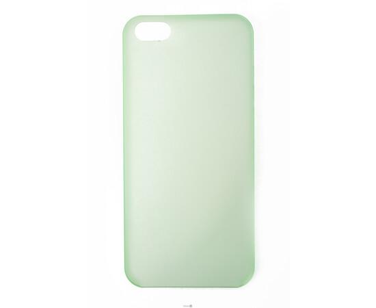 Чехол для iPhone 5/5S Colorful Slim Series 0.3 mm (Green), фото