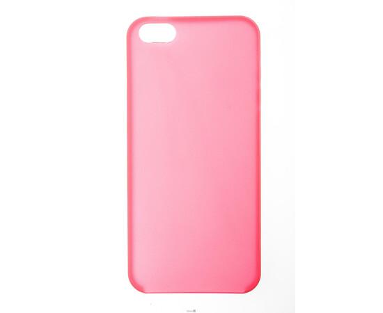 Чехол для iPhone 5/5S/SE Colorful Slim Series 0.3 mm (Red), фото