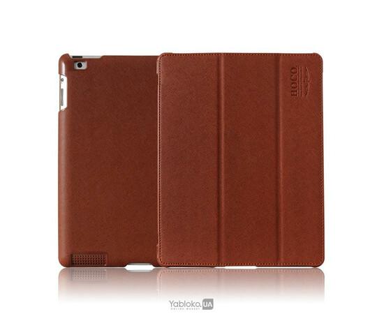 Чехол для iPad 2/3/4 HOCO Happy Series Leather Case (Brown), фото