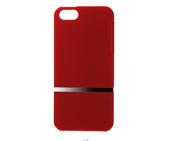 Чехол для iPhone 5/5S/SE Invellop Slider Case Hard Cover Bumper (Red), фото