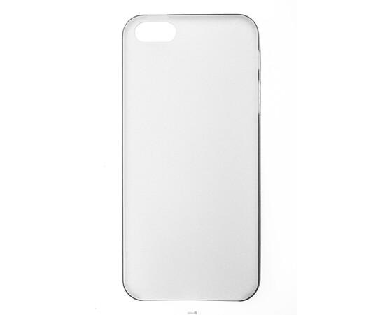Чехол для iPhone 5/5S/SE Colorful Slim Series 0.3 mm (Grey), фото