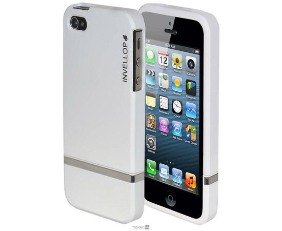 Чехол для iPhone 4/4s Invellop slider Case Hard Cover Bumper (White), фото
