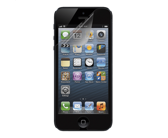Защитная пленка для iPhone 5/5S/SE Screen Protector Set Steinheil Ultra Crystal Mix (SGP09590), фото