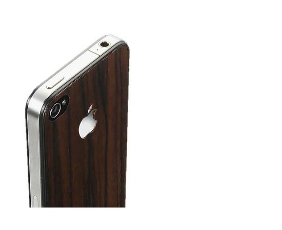 Защитная пленка для iPhone 4/4S SGP Skin Guard Wood Camagon Set Package (SGP06899), фото , изображение 2