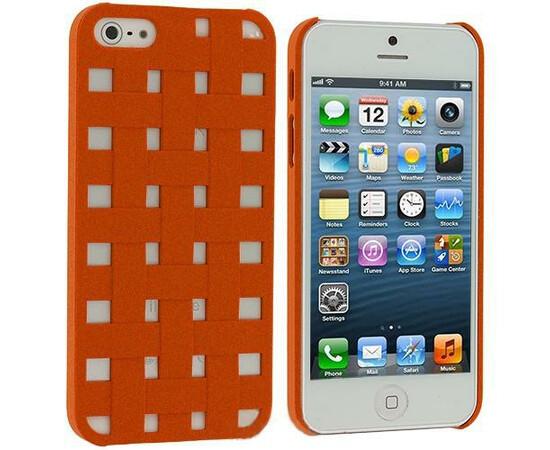 Чехол для iPhone 4/4S More Handwoven Orange, фото