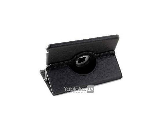 Чехол для iPad mini/Retina MegaGear 360 Degrees Rotating Stand Leather Smart Cover Case (Black), фото , изображение 2