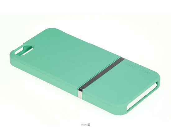Чехол для iPhone 5/5S/SE Invellop Slider Case Hard Cover Bumper (Gray-Green), фото , изображение 2