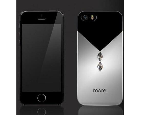 Чехол для iPhone 5/5S/SE More Vertex Metallic (Titan/Aluminium Silver), фото