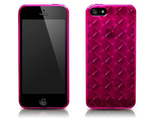 Чехол для iPhone 5/5S More Handwoven (Pink), фото