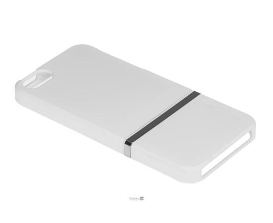 Чехол для iPhone 5/5S/SE Invellop Slider Case Hard Cover Bumper (White), фото , изображение 2
