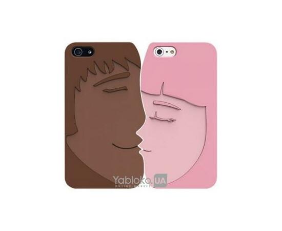 Чехол для iPhone 5/5S/SE Ozaki iCoat Lover Forever (Brown/Pink), фото , изображение 2