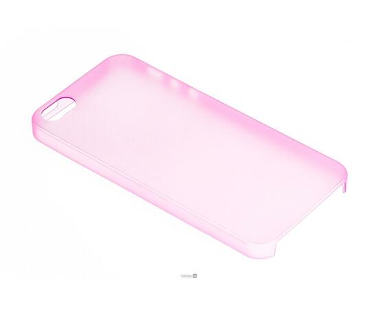 Чехол для iPhone 5/5S/SE Colorful Slim Series 0.3 mm (Pink), фото , изображение 2
