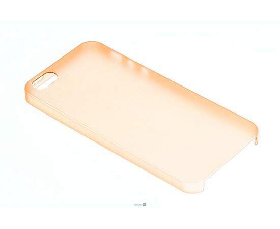 Чехол для iPhone 5/5S Colorful Slim Series 0.3 mm (Orange), фото , изображение 2