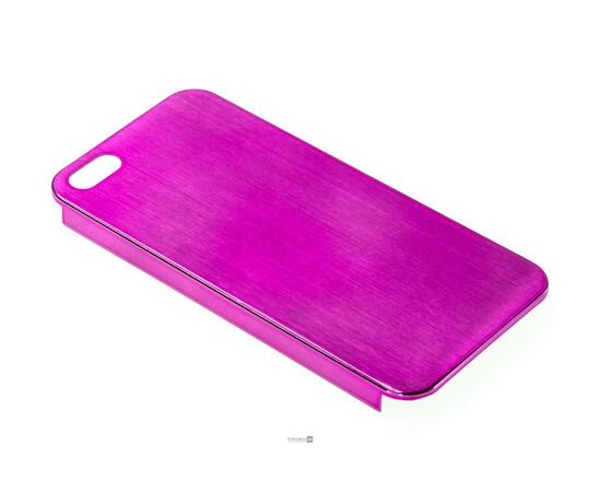 Чехол для iPhone 5/5S/SE Brushed Aluminum Case Slim Series 0.3 mm (Pink), фото , изображение 2