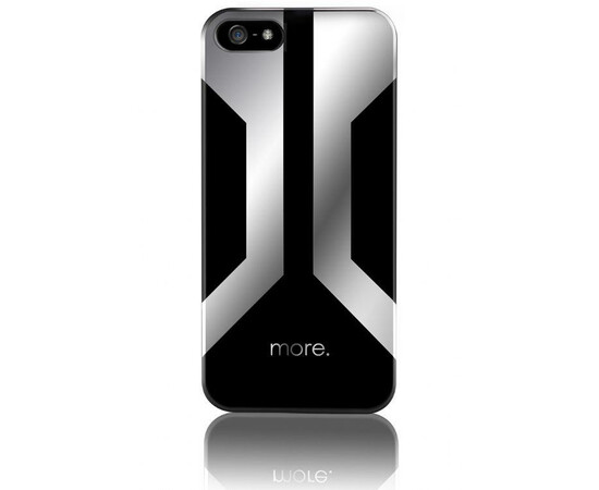 Чехол для iPhone 5/5S/SE More Vertex Metallic (Herman/Mercury Silver), фото
