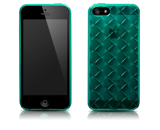 Чехол для iPhone 5/5S/SE More Handwoven (Coral-Sea Blue), фото