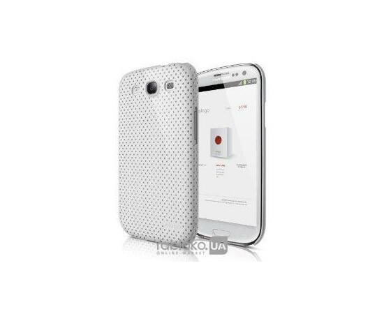 Чехол для Galaxy S3 Elago G5 Breathe Case Soft Feeling Jean (White), фото