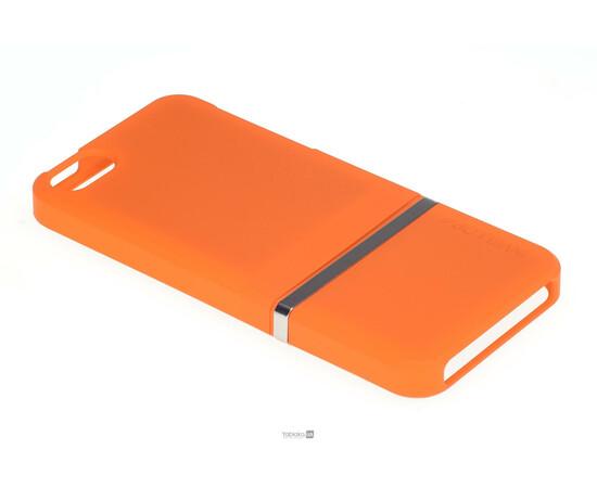 Чехол для iPhone 5/5S/SE Invellop slider Case Hard Cover Bumper (Orange), фото , изображение 2