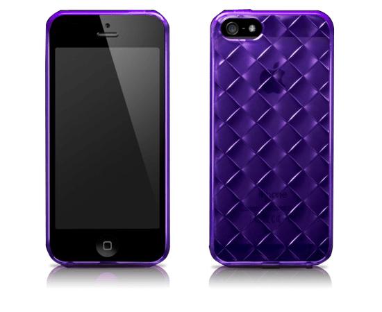 Чехол для iPhone 5/5S More Handwoven (Purple), фото