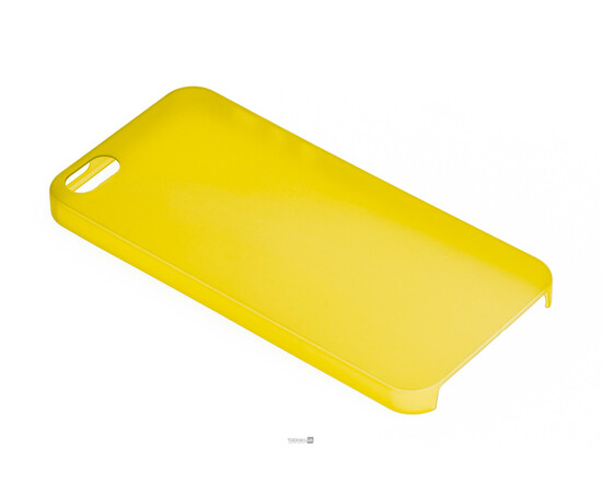 Чехол для iPhone 5/5S/SE Colorful Slim Series 0.3 mm (Yellow), фото , изображение 2