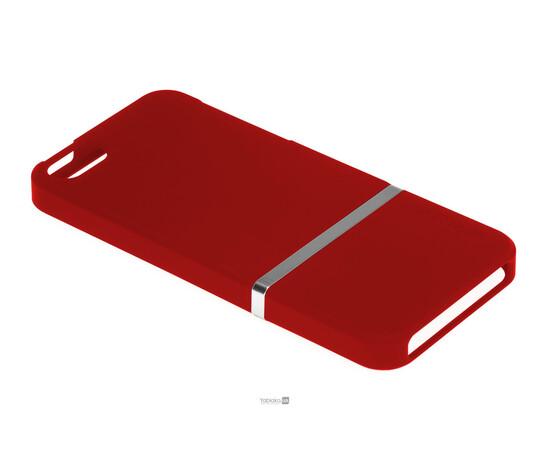 Чехол для iPhone 5/5S/SE Invellop Slider Case Hard Cover Bumper (Red), фото , изображение 2