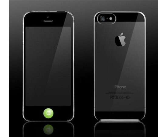 Чехол для iPhone 5/5S More Granite Collection Ultra slim (Clear), фото