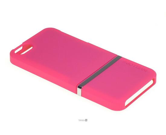 Чехол для iPhone 5/5S/SE Invellop Slider Case Hard Cover Bumper (Hot Pink), фото , изображение 2