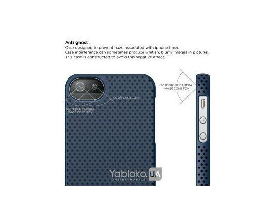 Чехол для iPhone 5/5S/SE Elago S5 Breathe Case (Soft Feeling Jean Indigo), фото , изображение 2