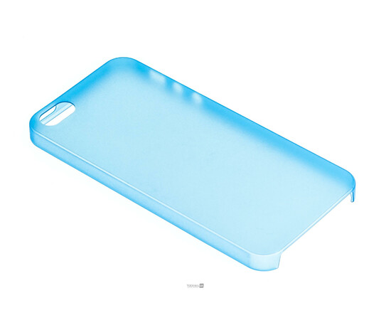 Чехол для iPhone 5/5S/SE Colorful Slim Series 0.3 mm (Blue), фото , изображение 2