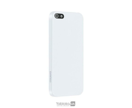 Чехол для iPhone 5/5S Ozaki O!coat 0.3 Solid White (OC530WH), фото , изображение 2