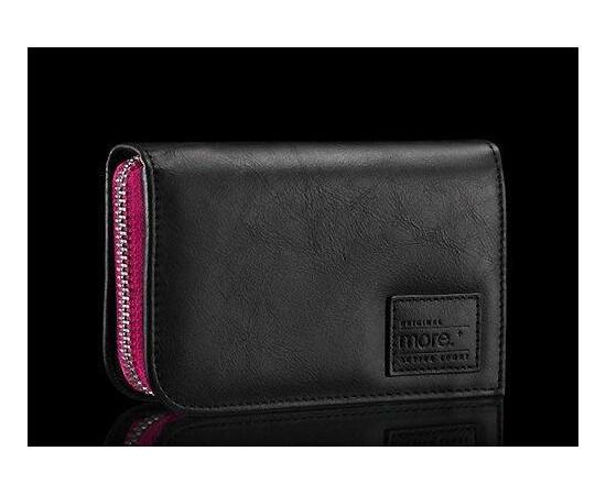 Чехол для iPhone 5/5S/SE More Carri Zipper Wallet Fuchsia (Pink), фото