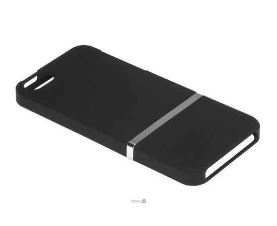 Чехол для iPhone 5/5S/SE Invellop Slider Case Hard Cover Bumper (Black), фото , изображение 2