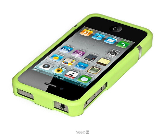 Чехол для iPhone 5/5S/SE Invellop slider Case Hard Cover Bumper (Green), фото , изображение 2