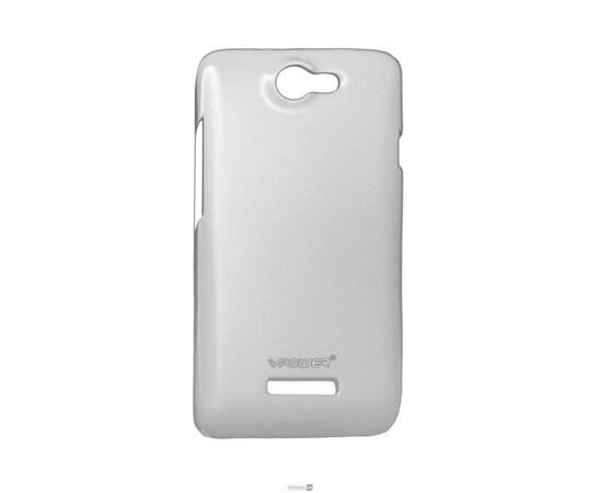 Чехол VPower Crystal Case for HTC One X (Gloss White), фото