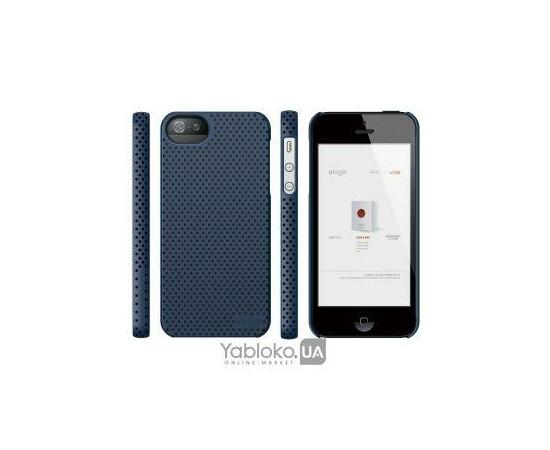 Чехол для iPhone 5/5S/SE Elago S5 Breathe Case (Soft Feeling Jean Indigo), фото , изображение 3