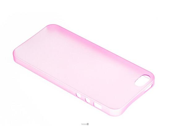 Чехол для iPhone 5/5S/SE Colorful Slim Series 0.3 mm (Pink), фото , изображение 3