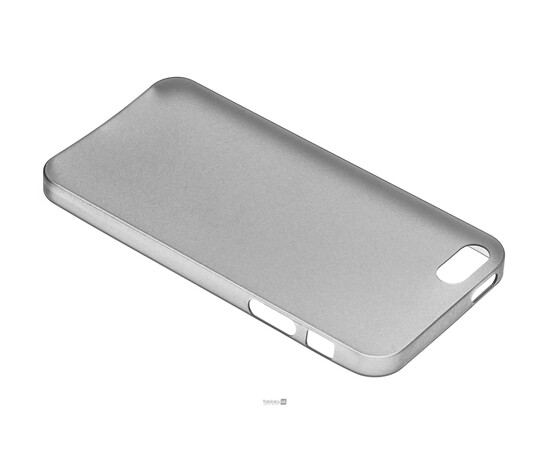 Чехол для iPhone 5/5S/SE Colorful Slim Series 0.3 mm (Grey), фото , изображение 3