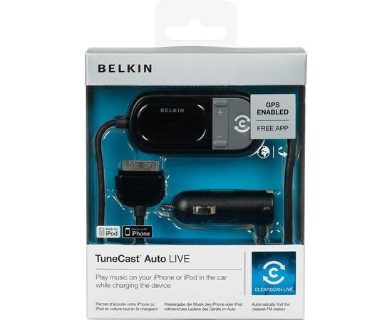 Автомобильное зарядное устройство FM-трансмиттер Belkin TuneCast Auto Livei для Pod/iPhone, фото , изображение 3