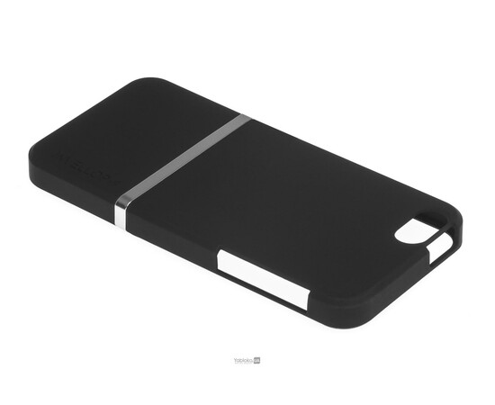 Чехол для iPhone 5/5S/SE Invellop Slider Case Hard Cover Bumper (Black), фото , изображение 3