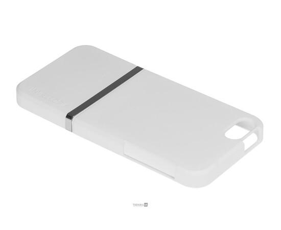 Чехол для iPhone 5/5S/SE Invellop Slider Case Hard Cover Bumper (White), фото , изображение 3