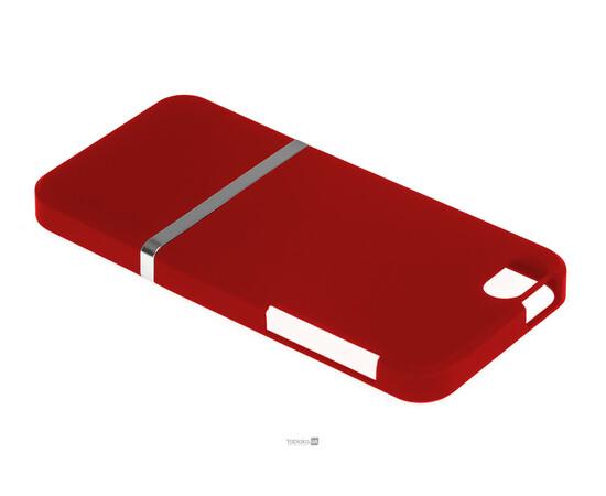Чехол для iPhone 5/5S/SE Invellop Slider Case Hard Cover Bumper (Red), фото , изображение 3