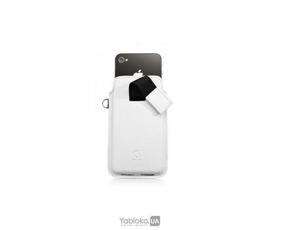 Чехол для iPhone 4/4S Capdase Smart Pocket Callid (White), фото , изображение 3